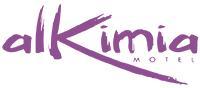 Logo do Motel alkimia